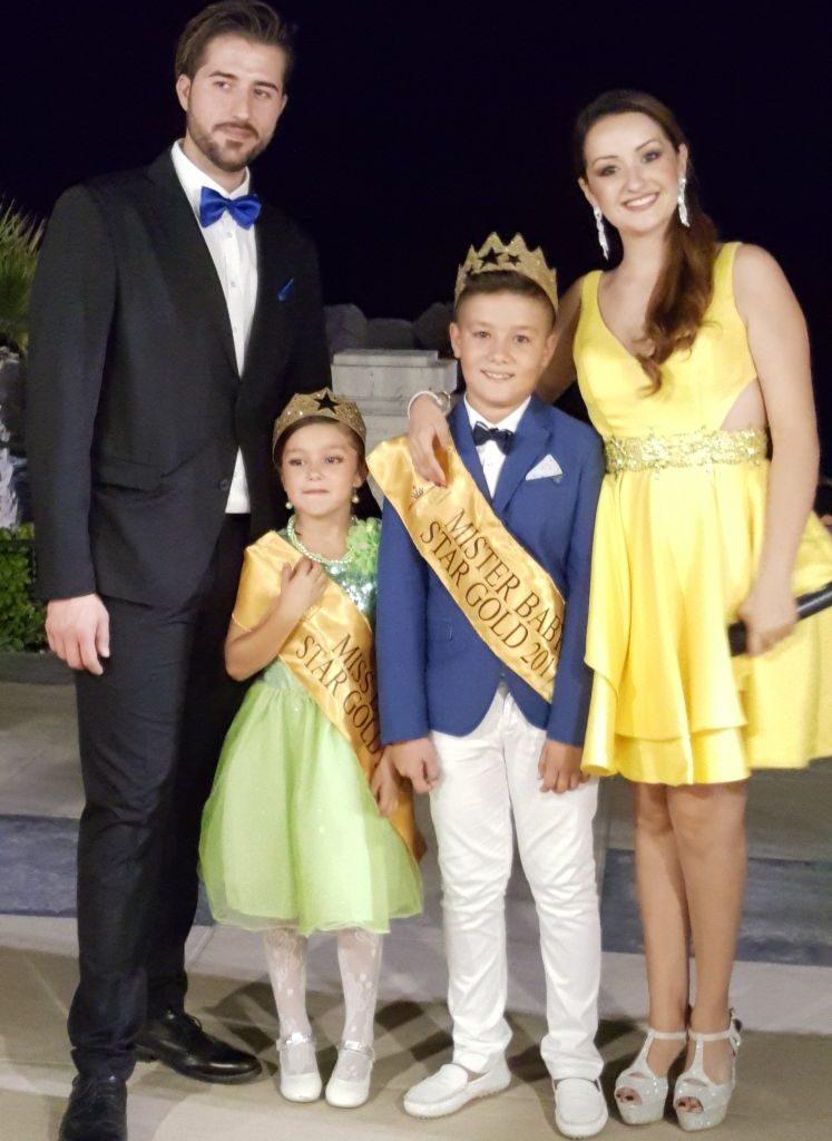 Joele Maisano 10 anni di Milazzo eletto Mister Star Gold 2017