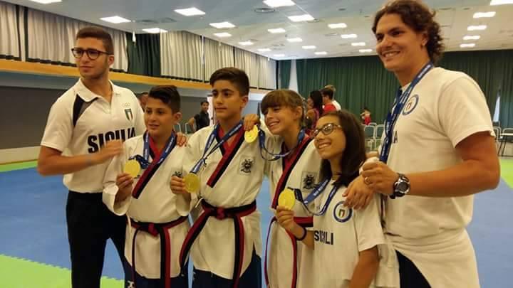 """Quarto posto per la Sicilia al trofeo """"Coni Kinder +Sport"""""""