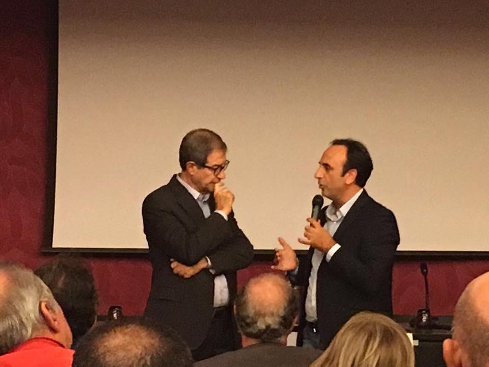 «Rilanciare impresa e lavoro», Musumeci e Galluzzo incontrano gli operatori dell'area produttiva di Milazzo-Giammoro