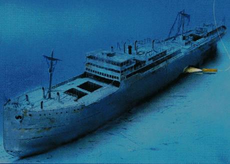 Scoperto nei fondali del porto di Messina il relitto di un piroscafo