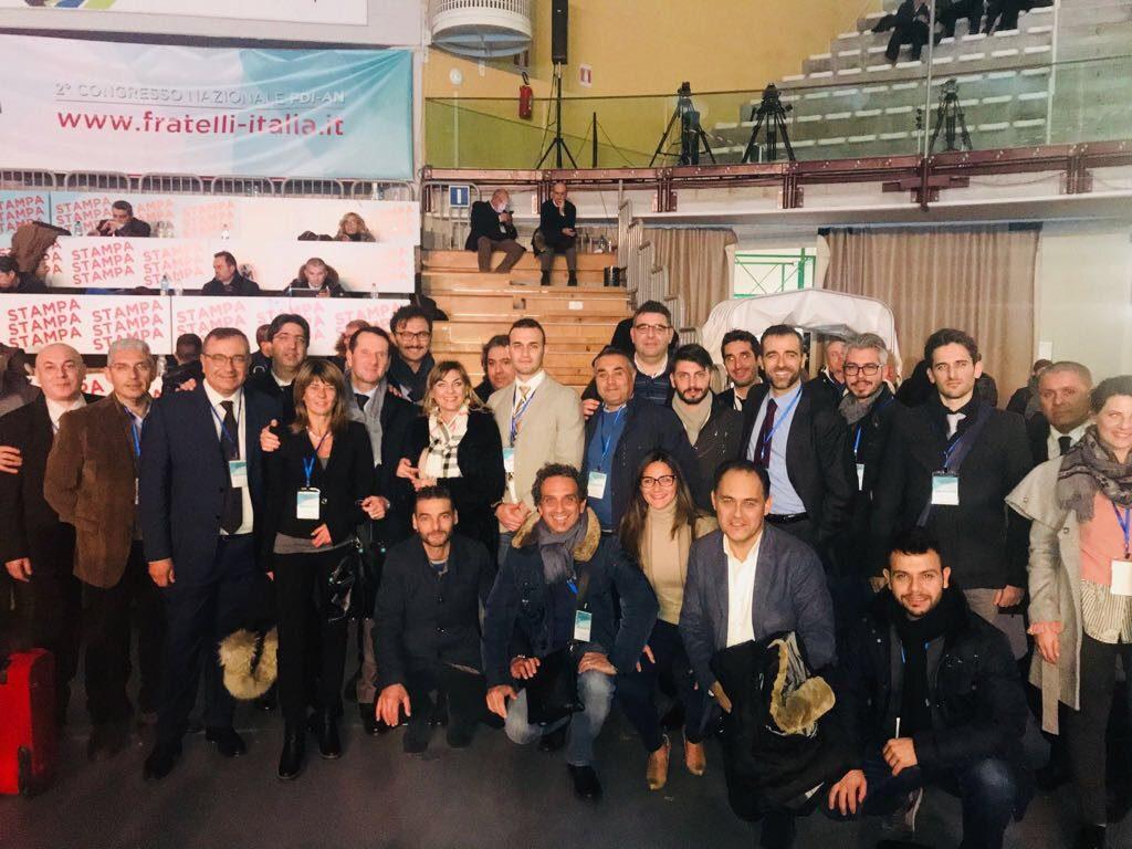 """Tanti i messinesi presenti al II Congresso nazionale di FdI, Sottile: """"In soli 5 anni un vero miracolo"""""""
