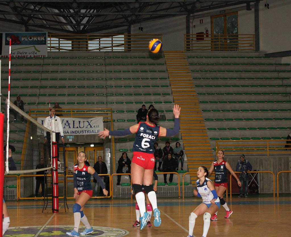 Alla Saracena Volley non riesce l'impresa con il Giarre