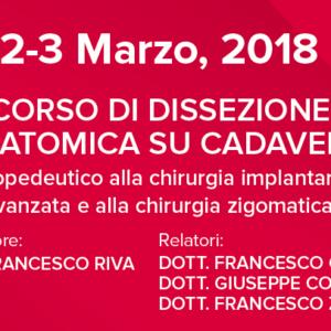 """Dental Space presenta in Sicilia la nuova edizione del """"corso in dissezione anatomica per dentisti"""""""