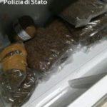 Catania, 141 kg marijuana in scuola, 2 arresti