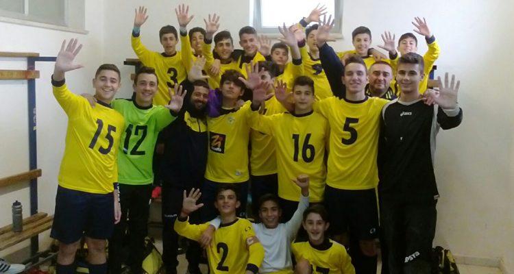 Acd Folgore, i Giovanissimi Regionali dominano il campionato
