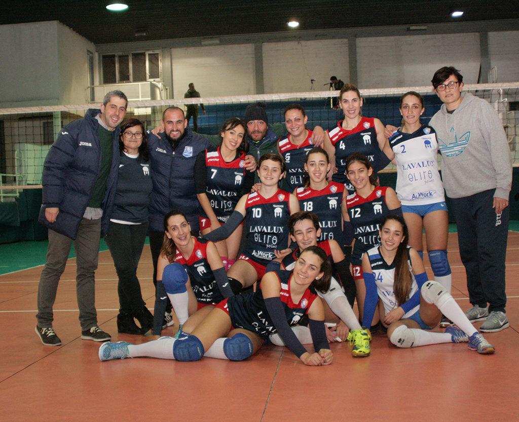 Netta vittoria della Saracena Volley in casa del Messana