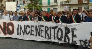 Comitati esultanti per l'esito della manifestazione di domenica scorso contro il Termovalorizzatore