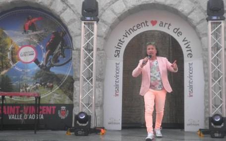 A Sanremo anche Nuccio Scibilia tifa per la messinese Alice Caioli