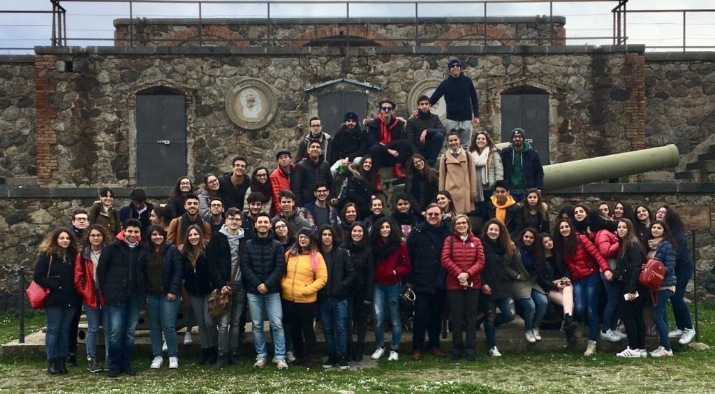 Messina/ Le telecamere della Rai a Forte Cavalli