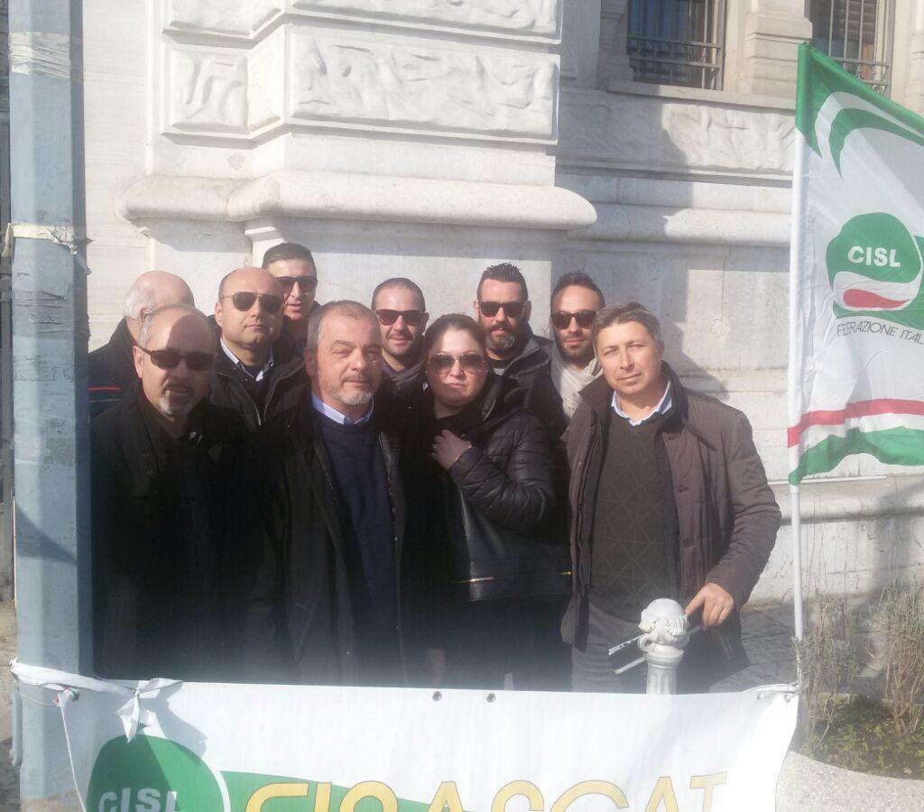 Appalti Policlinico di Messina: agenti Mondialpol ancora in protesta davanti la Prefettura