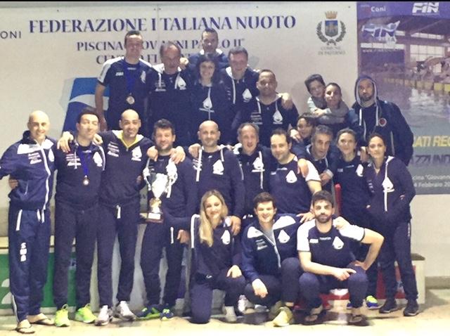 Ottima prestazione di squadra per la Swimblu Milazzo che ai Campionati Regionali Master