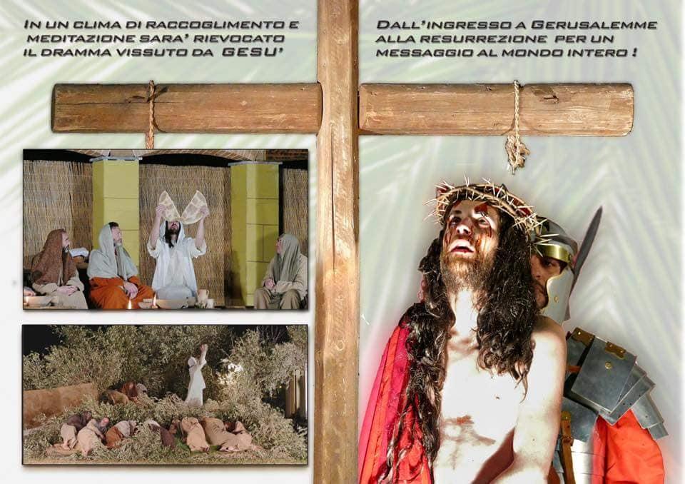 Domenica sera la via Crucis vivente a Santa Marina di MIlazzo