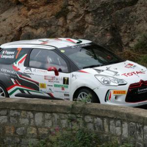 Rally di Cefalù, navigatore investito