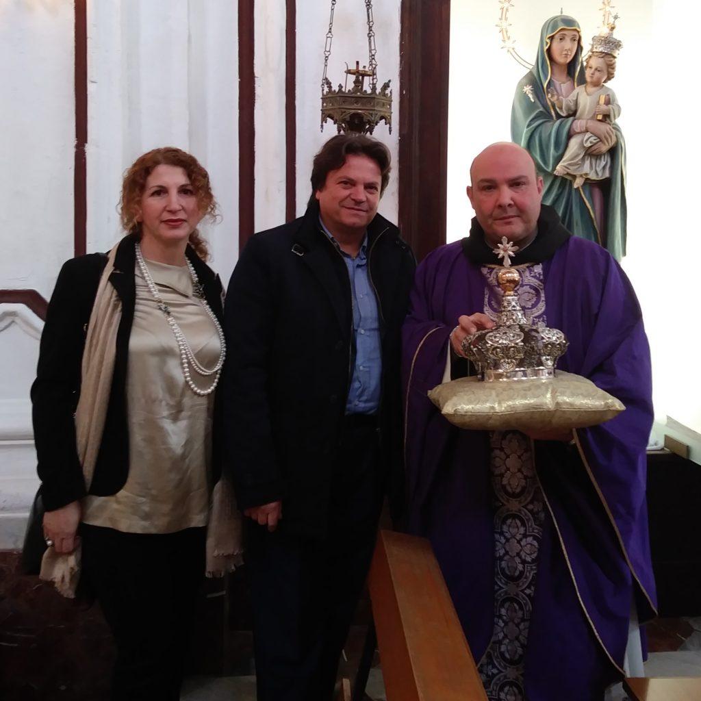 Milazzo/ Chiesa S. Maria Maggiore, Restaurata la corona della Madonna