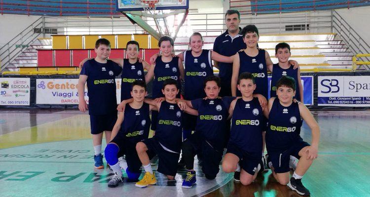 Svincolatini Milazzo conquistano il titolo provinciale Esordienti di basket