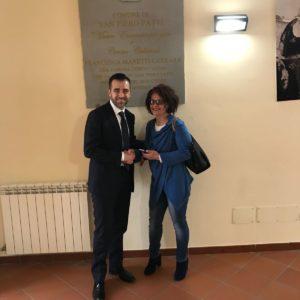 ON. CATALFAMO A SAN PIERO PATTI PER UFFICIALIZZARE PASSAGGIO IN FDI DELL'ASSESSORE SANDRA PETTINATO