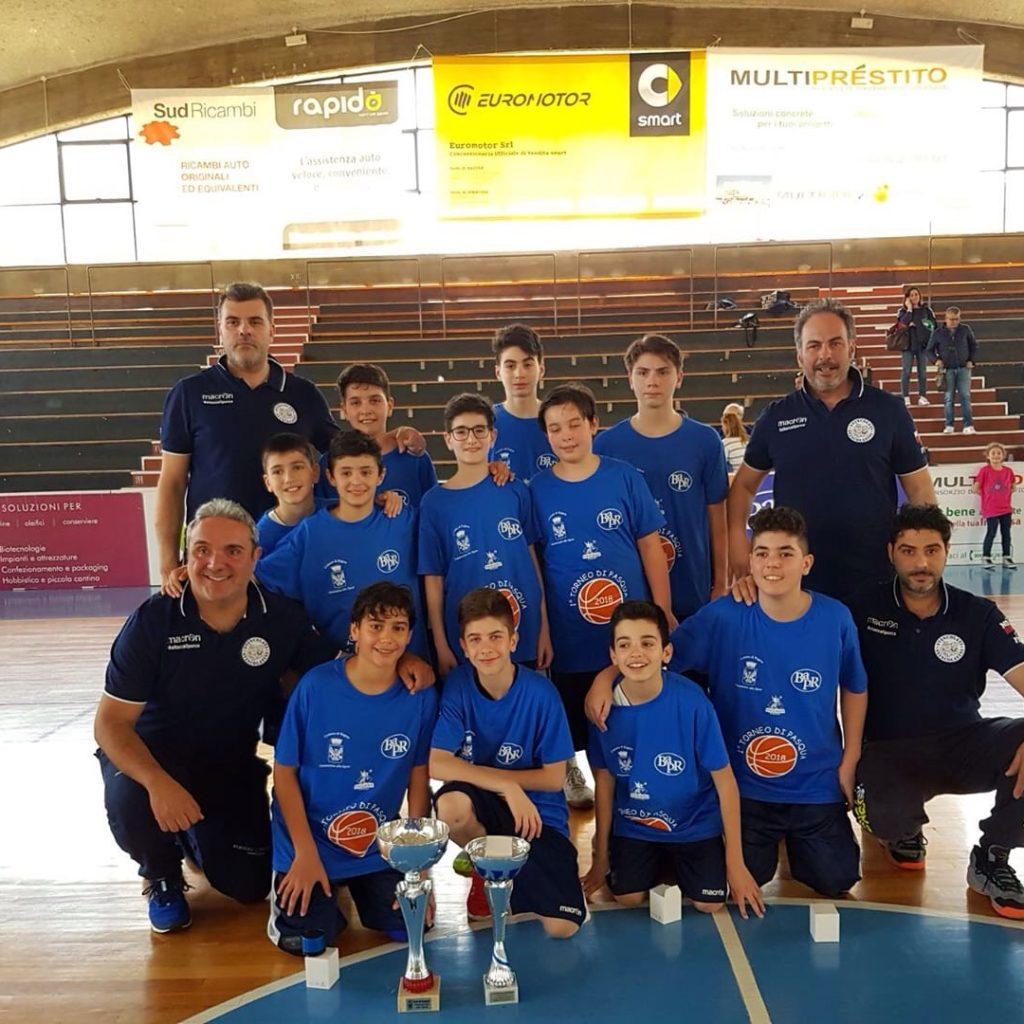 Gli Svincolati Milazzo vincono il torneo di Pasqua a Ragusa