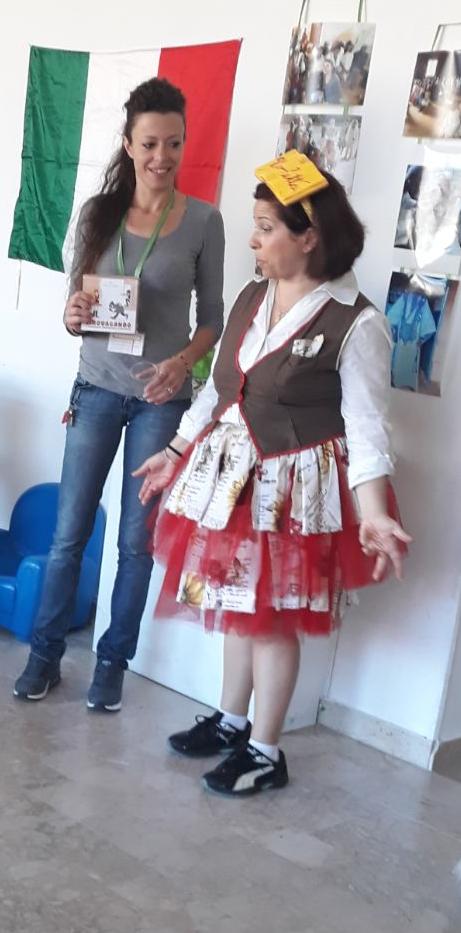 """Lettura espressiva con  """"Virgoletta"""" per i bambini di Marhaba Onlus"""