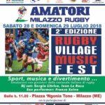 Milazzo/ II edizione del Rugby Village Music Fest
