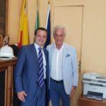 Visita di cortesia del console onorario della Federazione Russa on. Giovanni Ricevuto al sindaco metropolitano on. Cateno De Luca