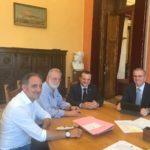 Incontro tra Assessore regionale Falcone ed il Sindaco metropolitano sulle problematiche delle infrastrutture del territorio della Città Metropolitana di Messina