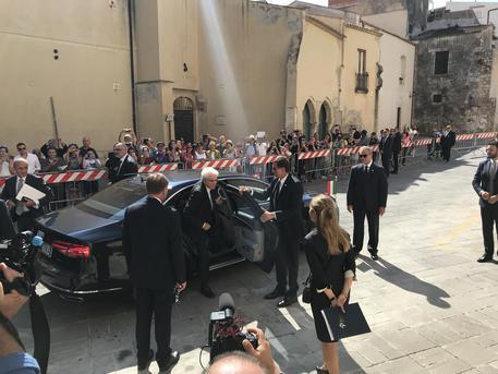 Il presidente Mattarella a Siracusa