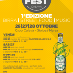 Tre giorni di musica, cibo e birra: inizia così il Beer Fest Calavà 2018 I edizione