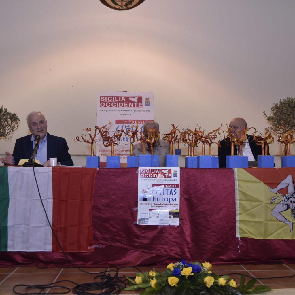 """Primo Premio """"CIVITAS Europa"""""""
