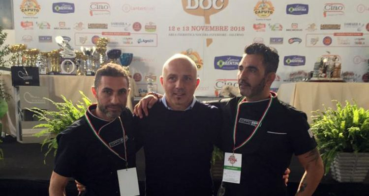 """Ilteam di """"Doppio zero""""  di Milazzo protagonista al campionato nazionale della pizza Doc"""