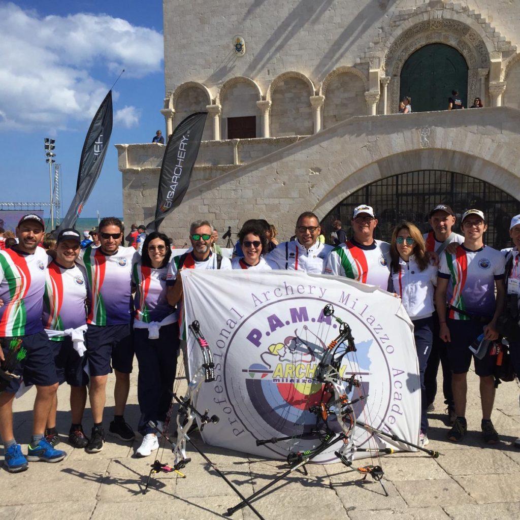 Pama Archery di Milazzo, campione d'Italia