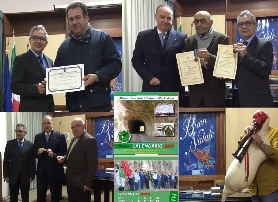 A Messina nella sede dell'Unuci e dell'Istituto del Nastro Azzurro diverse iniziative