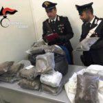 Sequestrati 60 kg marijuana a Catania