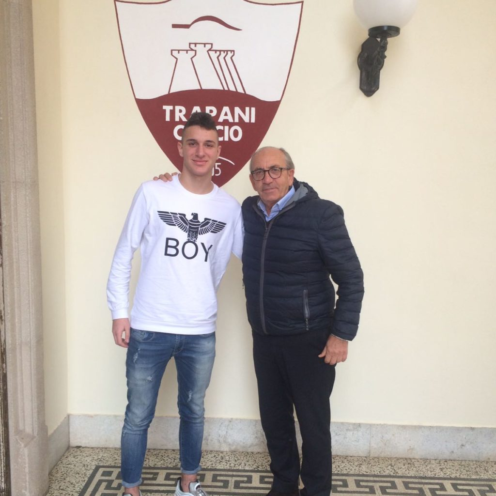 Approda al Trapani il giovane milazzese Riccardo Irrera