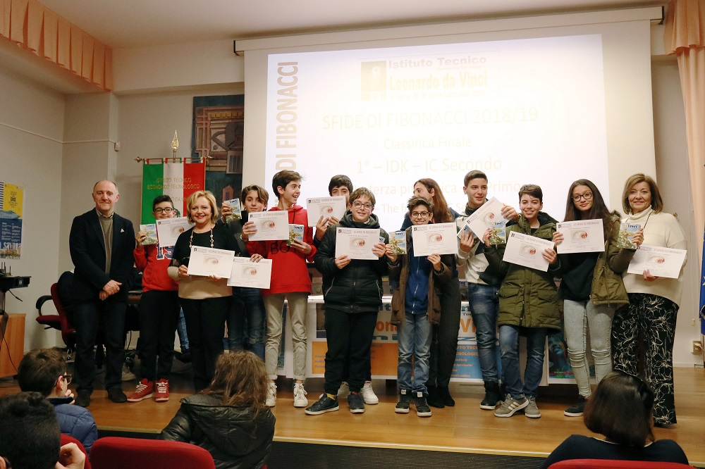 """Grande successo delle """"sfide di Fibonacci"""" all'Itet """"Leonardo da Vinci"""" di Milazzo"""