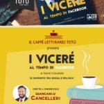 """Sabato a Milazzo Giancarlo Cancelleri presenta il libro """"I Viceré al tempo di Facebook"""" di Santi Cautela"""