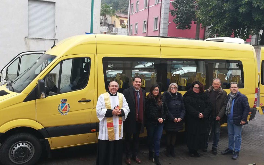 Rodì Milici, inaugurato nuovo scuolabus comunale