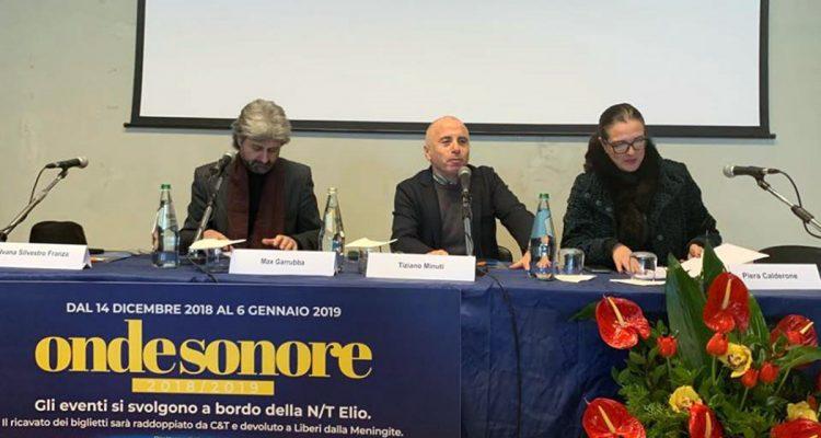 """Carnevale in musica sulla nave Elio di Caronte & Tourist, due nuove eventi di """"Onde Sonore"""""""
