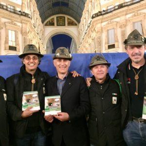 Il Coro Alpino Orobica a Montalbano e Tindari