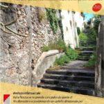 """Sabato """"Italia Nostra"""" pulirà la scalinata di Via Monastero al Borgo di Milazzo"""