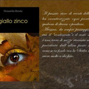 """La recensione/ """"Giallo Zinco"""", un romanzo tutto da leggere"""