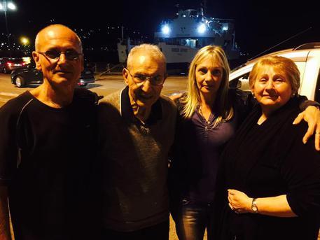 Si incontrano dopo 53 anni a Lipari