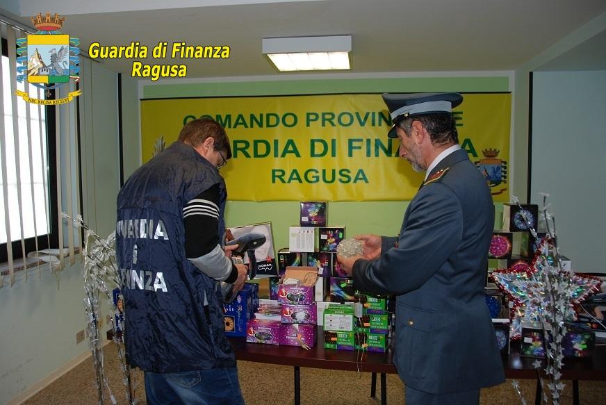 Guardia di Finanza, sequestrati a Ragusa oltre 10 mila prodotti pericolosi