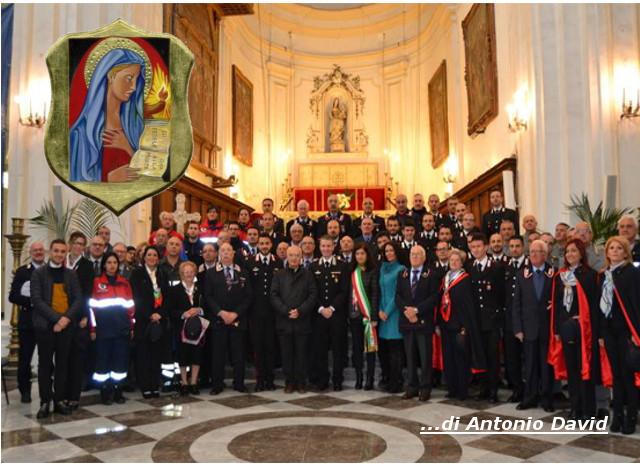 """Polizzi Generosa celebra la Virgo Fidelis, la """"Benemerita"""" dei Carabinieri"""