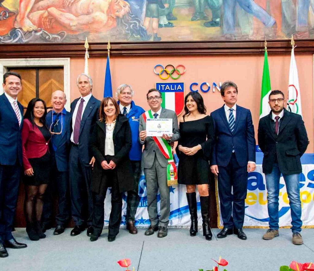 """""""European Town of Sport 2018"""", Montalbano Elicona  punta sullo sviluppo del turismo sportivo"""