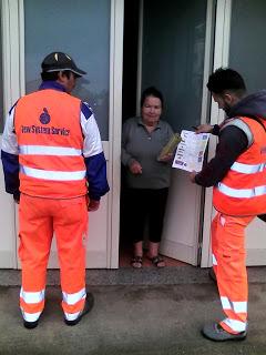 Consegna kit per differenziare i rifiuti alle famiglie della Piana di Milazzo