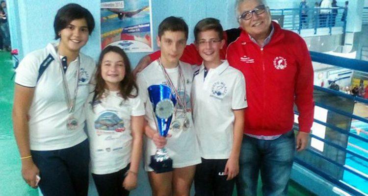 """Nuoto Milazzo, ottimo debutto al """"1° Trofeo Mimmo Ferlito"""""""