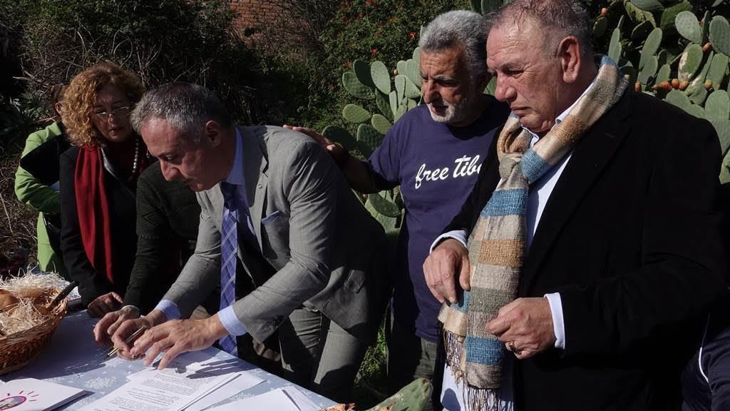 Affidato ufficialmente a Fiumara D'Arte il nuovo Complesso artistico monumentale di Mazzarò