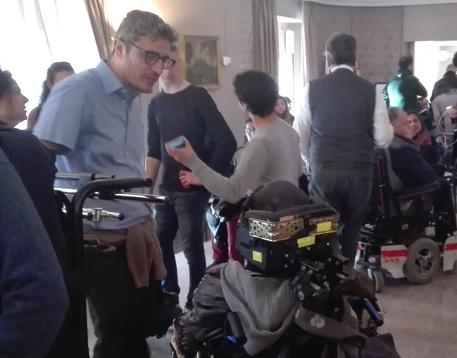 Duro faccia a faccia tra Pif e Crocetta sui disabili. I video della giornata