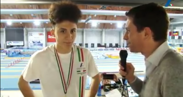 Nicholas Artuso campione italiano 60 metri juniores