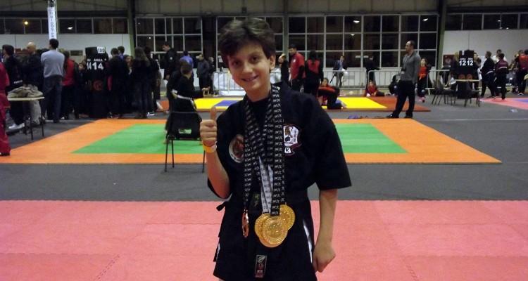 Arti marziali. L'undicenne Ivan Simone conquista il mondiale Wac in Portogallo